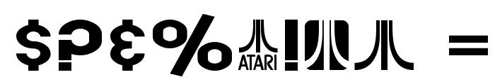 SF Atarian System Extended Bold Font OTHER CHARS