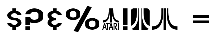 SF Atarian System Extended Font OTHER CHARS