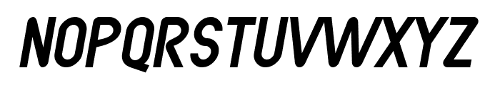 SF Atarian System Italic Font UPPERCASE