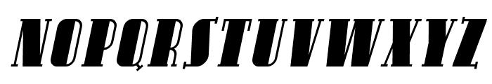SF Avondale SC Italic Font LOWERCASE
