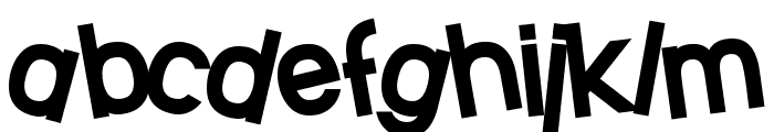 SF Beaverton Heavy Font LOWERCASE