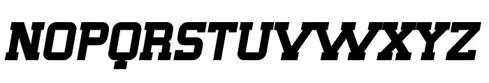 SF Big Whiskey Bold Font UPPERCASE