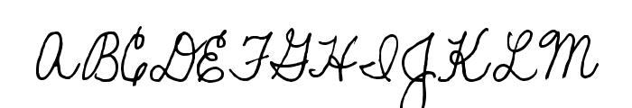 SF-Bobbi2 Font UPPERCASE