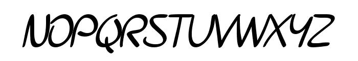 SF Burlington Script Bold Font UPPERCASE