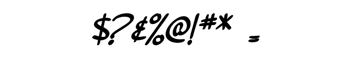 SF Burlington Script SC Bold Font OTHER CHARS
