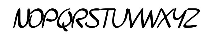 SF Burlington Script SC Bold Font UPPERCASE