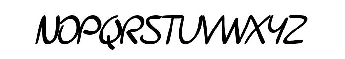 SF Burlington Script SC Bold Font LOWERCASE