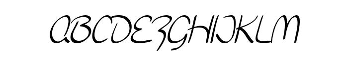 SF Burlington Script SC Font LOWERCASE