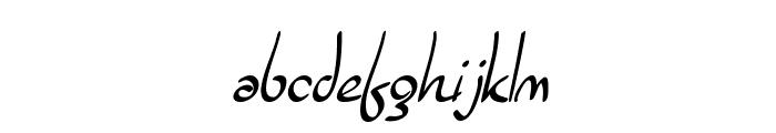 SF Burlington Script Font LOWERCASE