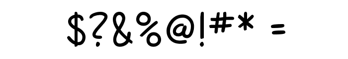 SF Cartoonist Hand Font OTHER CHARS