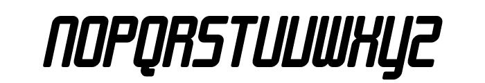 SF Chrome Fenders Bold Oblique Font UPPERCASE