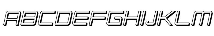SF Chromium 24 SC Oblique Font LOWERCASE
