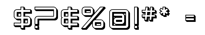 SF Chromium 24 SC Font OTHER CHARS