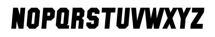 SF Collegiate Solid Bold Italic Font LOWERCASE