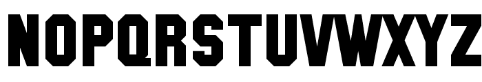 SF Collegiate Solid Bold Font UPPERCASE