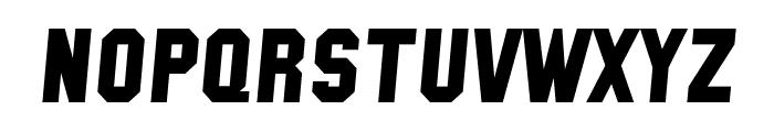 SF Collegiate Solid Italic Font LOWERCASE