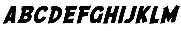 SF Comic Script Bold Font LOWERCASE