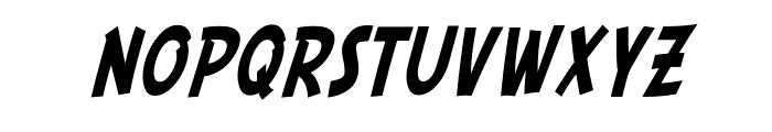 SF Comic Script Condensed Font LOWERCASE