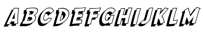 SF Comic Script Shaded Font LOWERCASE