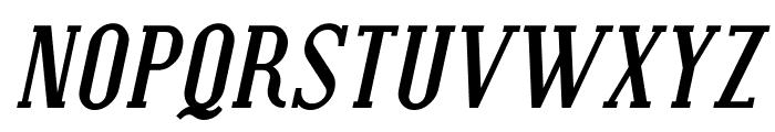 SF Covington Bold Italic Font UPPERCASE