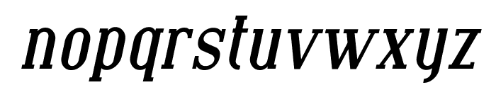 SF Covington Bold Italic Font LOWERCASE