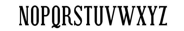 SF Covington Cond Bold Font UPPERCASE
