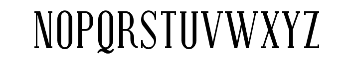 SF Covington Cond Font UPPERCASE