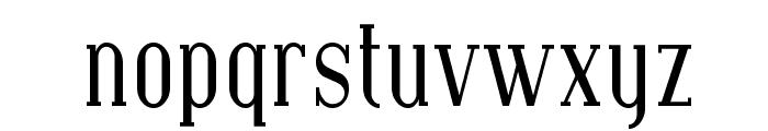 SF Covington Cond Font LOWERCASE