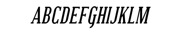 SF Covington SC Cond Bold Italic Font LOWERCASE