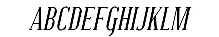 SF Covington SC Cond Italic Font UPPERCASE