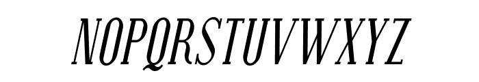 SF Covington SC Cond Italic Font LOWERCASE