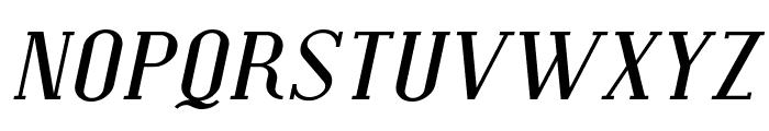 SF Covington SC Exp Italic Font LOWERCASE