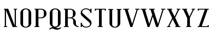 SF Covington SC Exp Font UPPERCASE