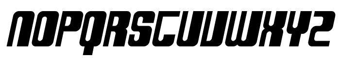 SF DecoTechno Bold Oblique Font UPPERCASE