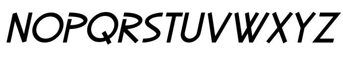 SF Diego Sans Oblique Font LOWERCASE