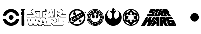 SF Distant Galaxy Symbols Font OTHER CHARS