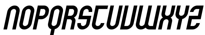 SF Eccentric Opus Bold Oblique Font UPPERCASE