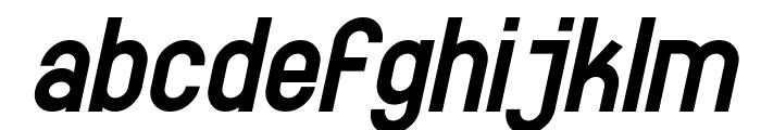 SF Eccentric Opus Bold Oblique Font LOWERCASE