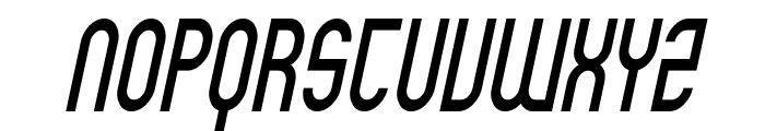 SF Eccentric Opus Condensed Oblique Font UPPERCASE