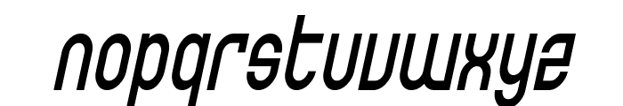 SF Eccentric Opus Condensed Oblique Font LOWERCASE