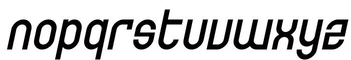 SF Eccentric Opus Oblique Font LOWERCASE