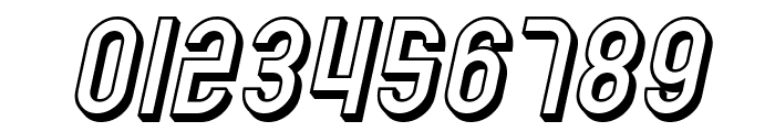SF Eccentric Opus Shaded Oblique Font OTHER CHARS