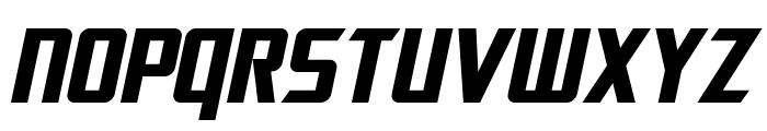 SF Electrotome Bold Oblique Font UPPERCASE