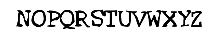 SF Espionage Medium Font UPPERCASE