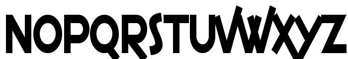 SF Espresso Shack Condensed Font UPPERCASE