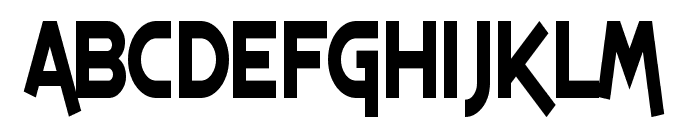 SF Espresso Shack Condensed Font LOWERCASE