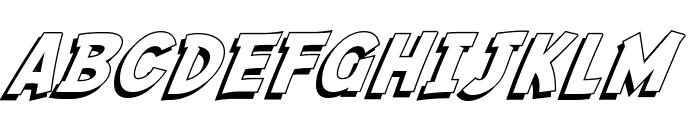 SF Fedora Shadow Font UPPERCASE