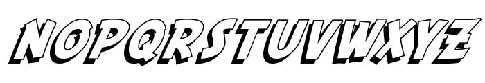 SF Fedora Shadow Font LOWERCASE