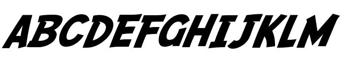 SF Fedora Font UPPERCASE