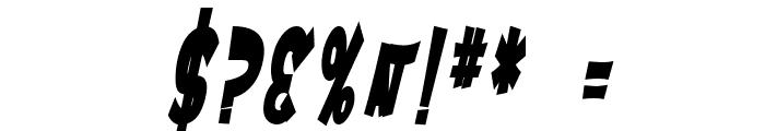 SF Ferretopia Bold Oblique Font OTHER CHARS